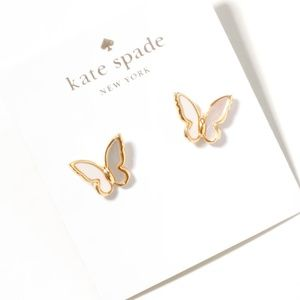 kate spade All A Flutter Mother-of-pearl Earrings